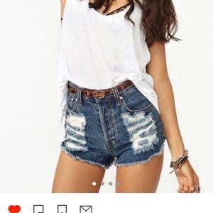 Mink shorts